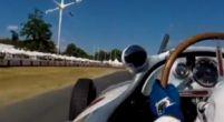 Afbeelding: Bottas rijdt in Mercedes-Benz van Juan Manuel Fangio!