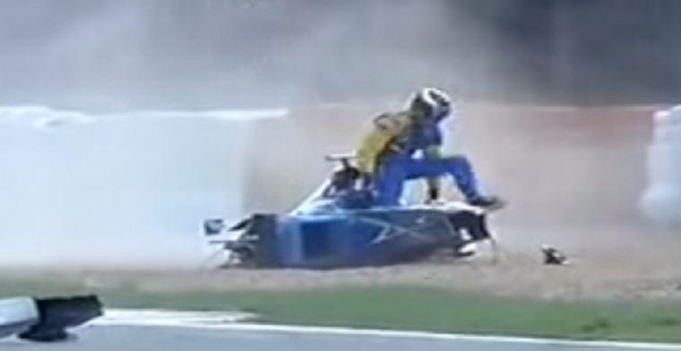 Dit waren de hardste crashes op het circuit van België!