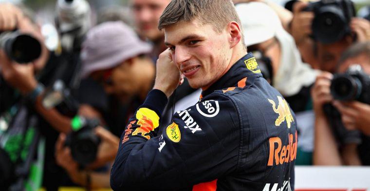Max Verstappen zal in 2019 eerste rijder zijn bij Red Bull Racing