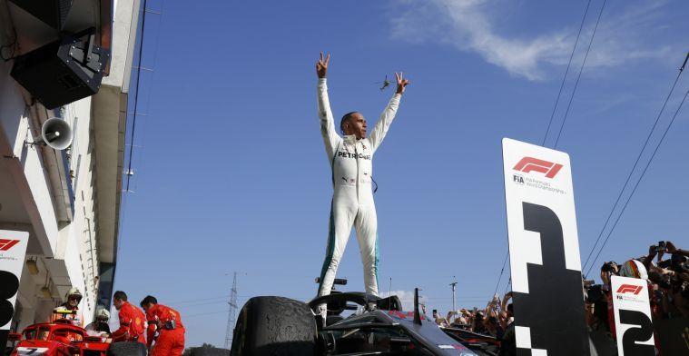 Lewis Hamilton is een buitenstaander in de Formule 1
