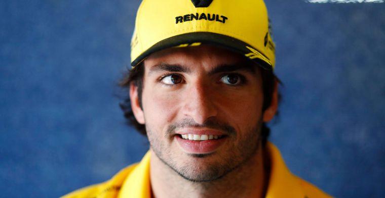 Button: ''Sainz mocht waarschijnlijk niet eens blijven bij Renault''