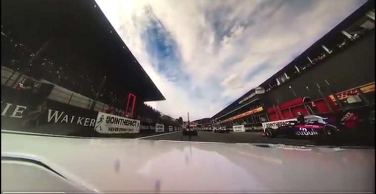 WATCH: Leclerc's Spa smash in 360°!