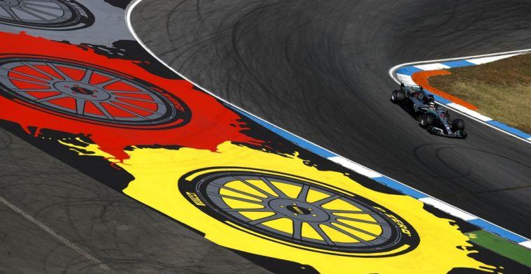 Mercedes nieuwe hoofdsponsor voor Grand Prix van Duitsland 2019