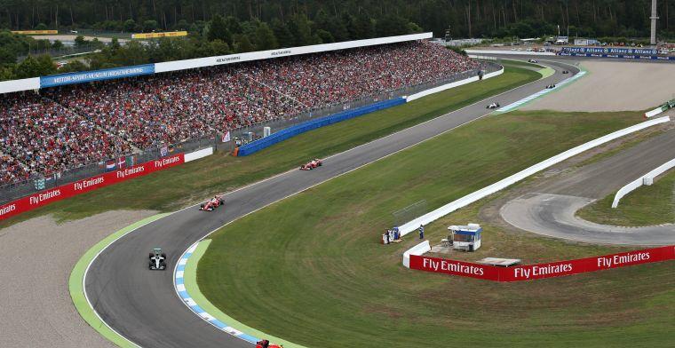 Toto Wolff: Chase Carey heeft ons overtuigd om Duitse GP te steunen