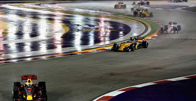 TIJDENOVERZICHT: Zo laat begint de Grand Prix van Singapore!