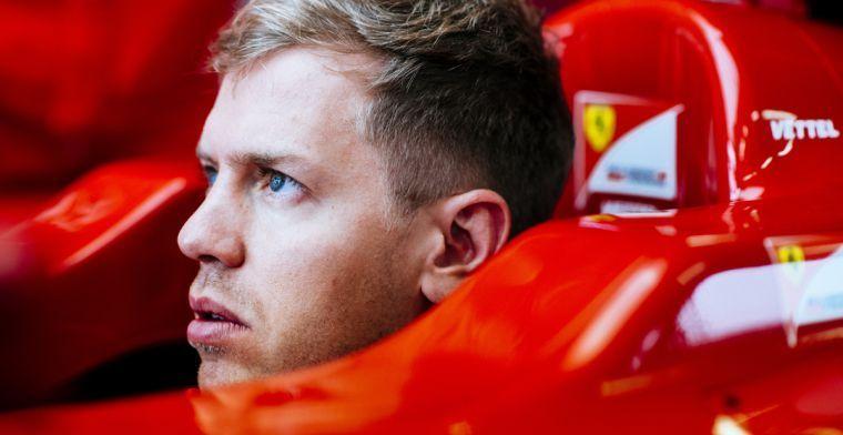 Sebastian Vettel: Het is niet ideaal, maar het gevoel met de wagen is goed