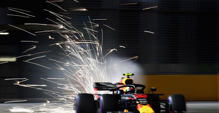 Verstappen over kansen op pole in Singapore