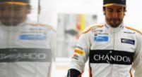 Afbeelding: Alonso nog steeds last van blessure na crash op Spa