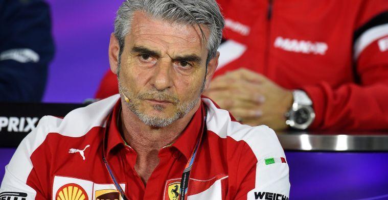 Arrivabene trekt boetekleed aan na kritiek op Ferrari