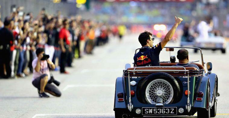 Ricciardo: ''Als zelfs Horner het zegt, dan is het zeker een stap vooruit''