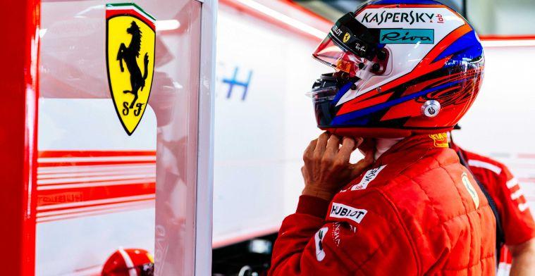 Is Kimi Raikkonen al eerder te bewonderen in de Sauber?