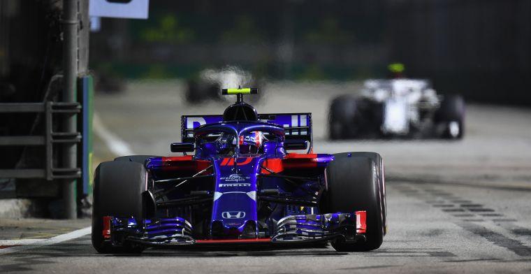Toro Rosso update-droogte pas in Austin echt voorbij