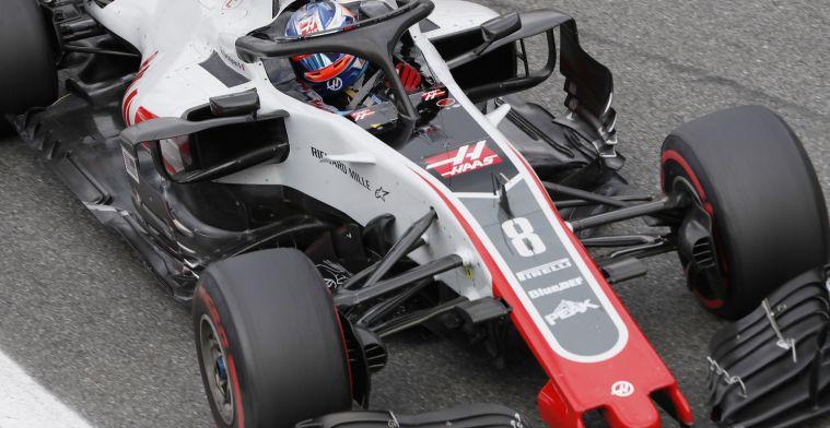 Ontgoochelde Grosjean: Dacht hele tijd in de punten te rijden