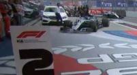 Afbeelding: Bottas rijdt gefrustreerd P2 bord omver