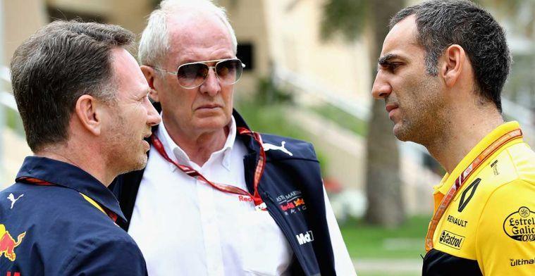 Renault: We willen de relatie met Red Bull op een goede manier afsluiten