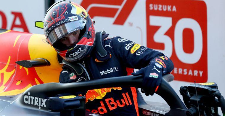 STRAFPUNT VOOR MAX VERSTAPPEN NA GP JAPAN
