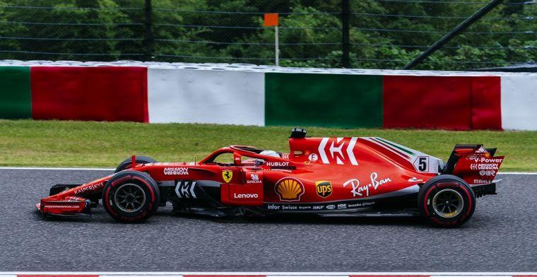 Sebastian Vettel defends Ferrari's tyre gamble in Japan qualifying