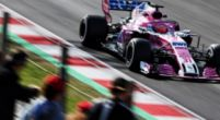 "Image: Ocon ""not happy with Force India weekend"" despite double points finish"