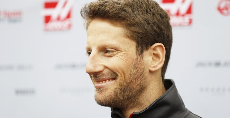 Grosjean was never worried about losing his Haas seat