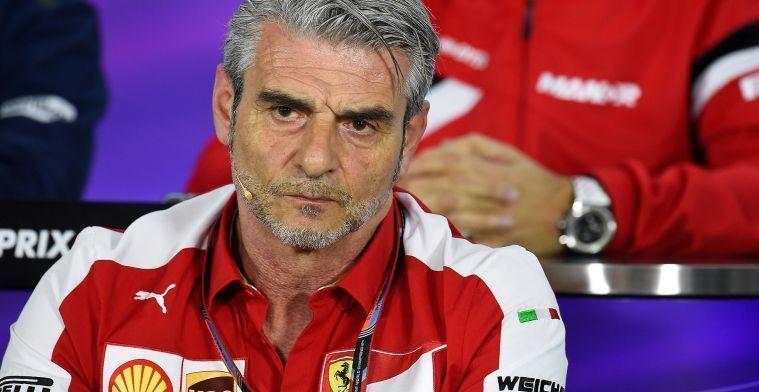 Arrivabene vermoedt spionage bij Ferrari