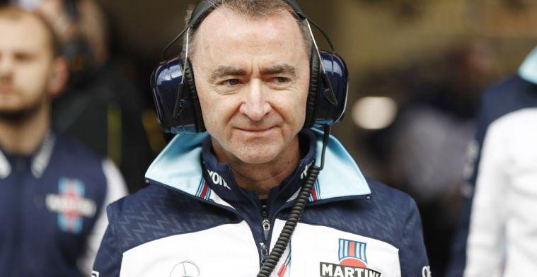 Paddy Lowe ziet 2019 als kans om Williams er weer bovenop te helpen