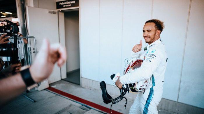 Hamilton: ''Ik rij niet voor records, maar omdat ik graag wil winnen''