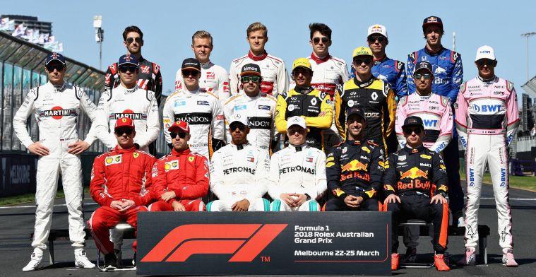 Deze coureurs zullen volgend jaar in Formule 1 in actie komen!
