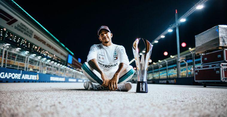 """Hamilton: """"Tot voorkort kon ik alleen dromen over zulke resultaten"""""""