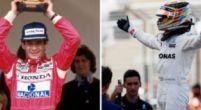 Afbeelding: Lewis Hamilton kan opnieuw zijn grote idool evenaren