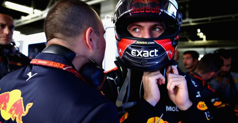Van der Grint: Ik verwacht dat Max Verstappen mee kan doen voor de ereplaatsen
