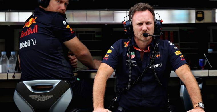 Horner wijst naar Ferrari: 'Reglementen nodig om 'superteams' tegen te houden'