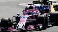 Afbeelding: In cijfers: prestaties Perez bij Force India