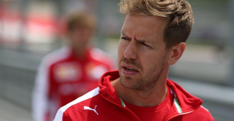 Sebastian Vettel moet op het matje komen bij de stewards!