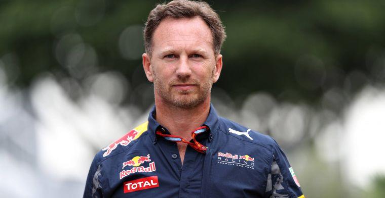 Christian Horner ontkent geruchten over komst Albon bij Toro Rosso niet