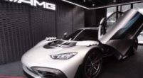 Afbeelding: Rosberg dolenthousiast over zijn brute AMG Project One-bolide