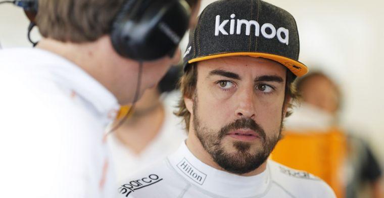 Alonso hint naar terugkeer Formule 1: 'Het zou kunnen in 2020'