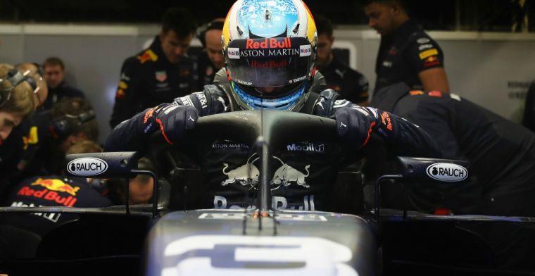 Team making 'jokes' about Daniel Ricciardo's Red Bull plight