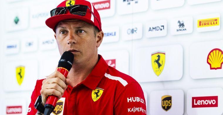 Raikkonen actually very happy to swap Ferrari for Sauber