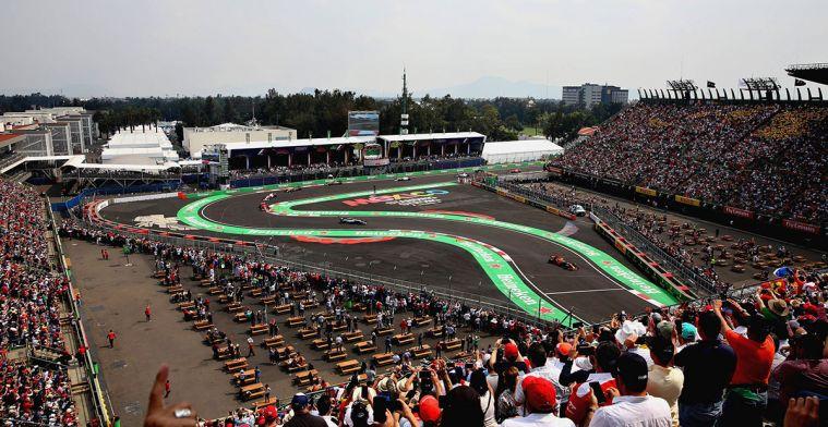 Weersverwachting GP Mexico: Mogelijk natte kwalificatie!