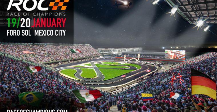 Race of Champions 2019 wordt gehouden in Mexico-Stad!