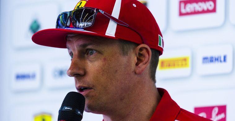 Raikkonen over eerste Formule 1-test: Ik had nog nooit een Grand Prix gezien