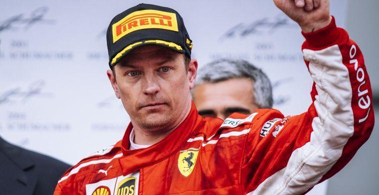 Raikkonen steunt Vettel: Ik weet niet of hij veel fouten heeft gemaakt