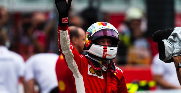 Whiting: Vettel penalised because he didn't do a good enough job
