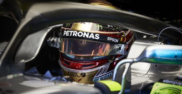 Om deze reden won Lewis Hamilton de GP in Amerika niet