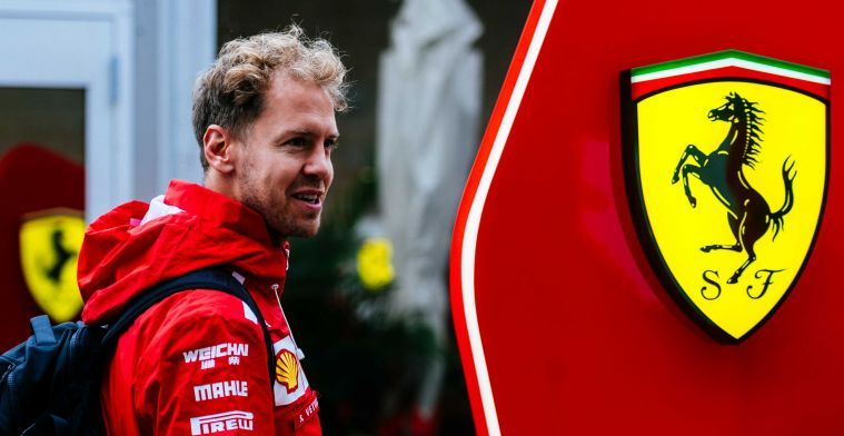 WATCH: Vettel visits Mercedes garage!