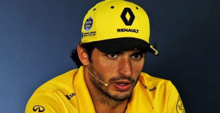 Sainz happy with 'plan B' option in McLaren