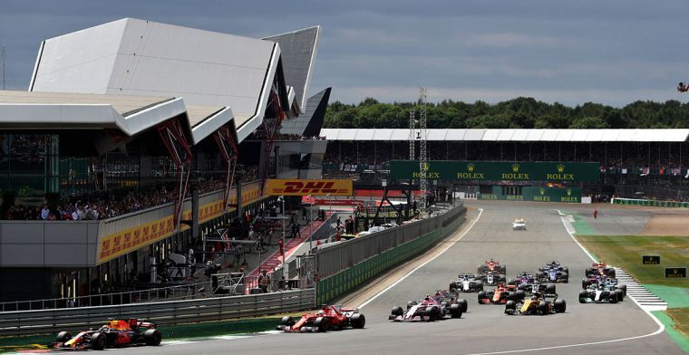 F1 hints at move from Silverstone