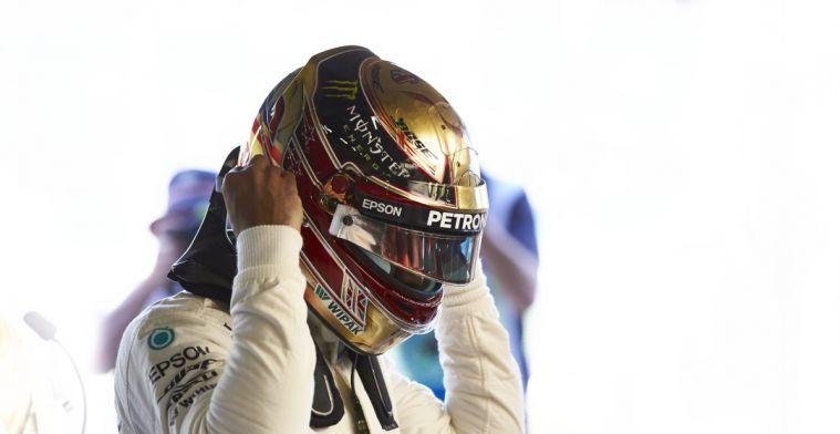 Lewis Hamilton: Ik ga Valtteri Bottas dit jaar geen overwinning geven