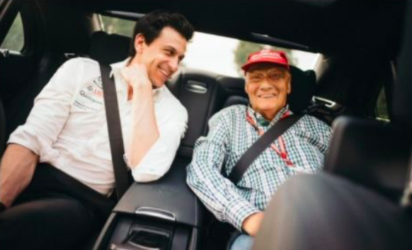Bernie Ecclestone says Niki Lauda will be back with Mercedes in Abu Dhabi!