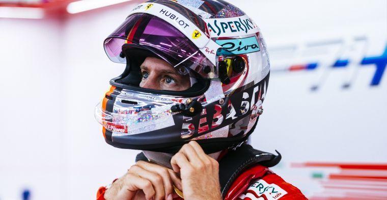 Vettel:  'ik heb nog een missie bij Ferrari'